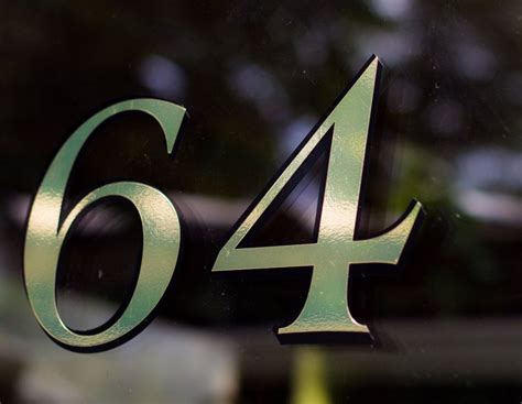 fanlight transom window house number period gold leaf style
