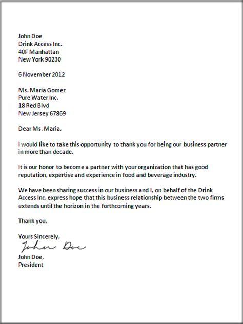 professional letter format  business letter format john