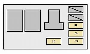Toyota Highlander Hybrid  2006 - 2007  - Fuse Box Diagram