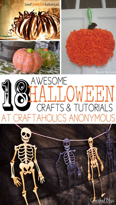 Craftaholics Anonymous®  18 Awesome Halloween Crafts