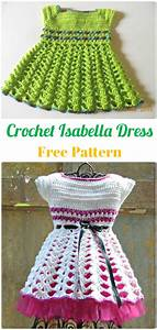 Crochet Girls Dress Free Patterns  U0026 Instructions