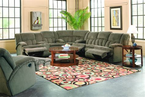 Sectional With Recliners by Brown Fabric Stylish Sectional Sofa W Recliners Drop Table