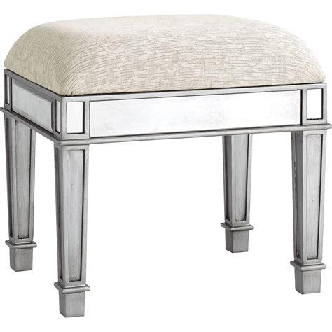 vanity bench stool hayworth silver vanity stool pier 1 imports