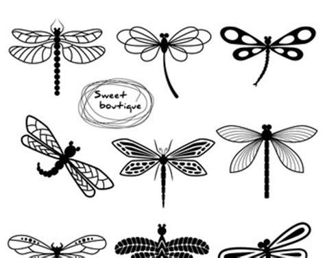 pretty dragonfly clipart butterfly clipart dragonfly pencil and in color