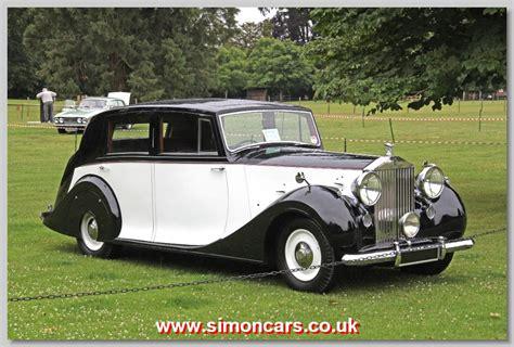 roll royce car 1950 simon cars rolls royce freestone and webb