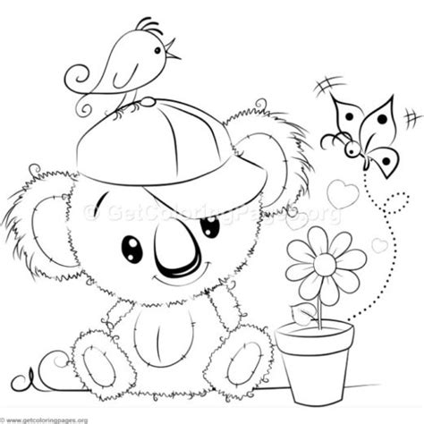 teddy bear number  coloring pages getcoloringpagesorg