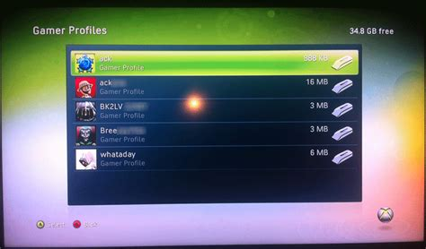 How To Delete A Profile On Xbox 360