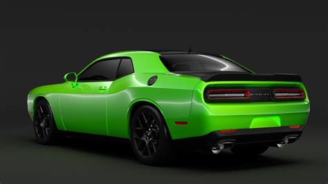 Dodge Challenger Ta 2017 3d Model Buy Dodge Challenger