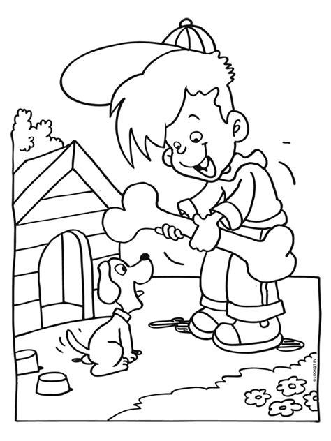 Kleurplaat Donald Duck Jong by Kleurplaat Dierendag Groot Cadeau Kleurplaten Nl