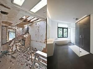 Altes Haus Sanieren Vorher Nachher : badezimmersanierung vorher nachher haus sanierung ~ Lizthompson.info Haus und Dekorationen