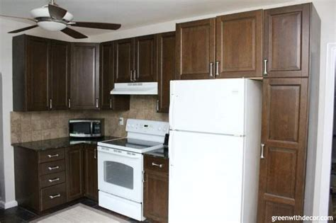 painted kitchen cabinets with white appliances aesthetic white kitchen brown cabinets granite white 9053