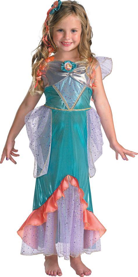 mermaid ariel deluxe toddler child girls
