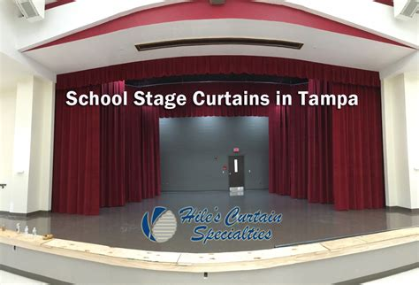 school stage curtains in ta hiles curtains specialties