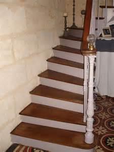 Re D Escalier Peinte En Blanc by Mon Escalier Au Coeur D Autrefois