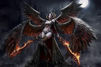 Fantasy Demon Dark Jin Angel Jungmin Era