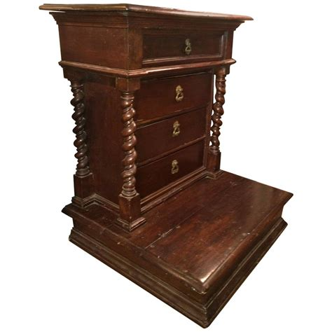 italian baroque walnut prie dieu for sale at 1stdibs