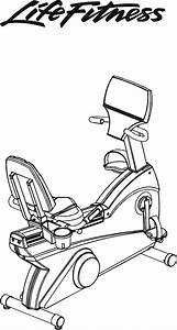 Life Fitness Bicycle 95ri User Guide