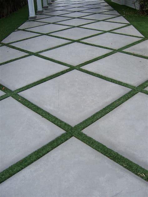 best 25 large concrete pavers ideas on