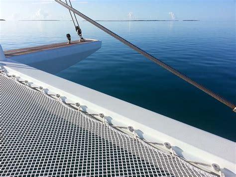 Catamaran With Net by Multihull Nets Catamaran Nets Trolines Atn