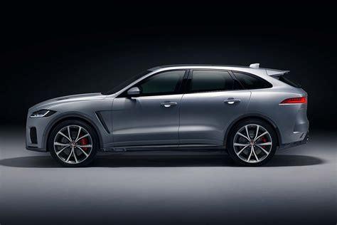 Jaguar F-pace Svr Super-suv Revealed In New York