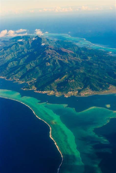 Aerial View Island Of Raiatea French Polynesia
