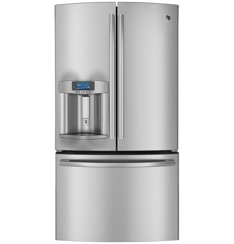 ge profile door refrigerator ge profile series 28 6 cu ft door refrigerator