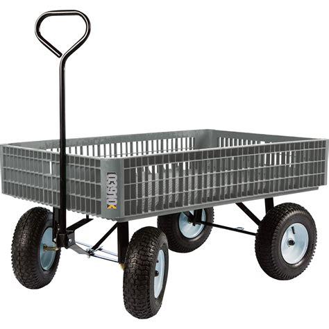 Farmtuff Crate Garden Wagon — 800lb Capacity, 46inl X