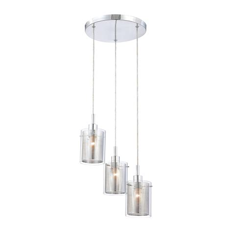 P963 Grid Ii 3light Pendant By George Kovacs  P963077