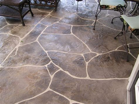 sted concrete overlay carved flagstone patio yelp