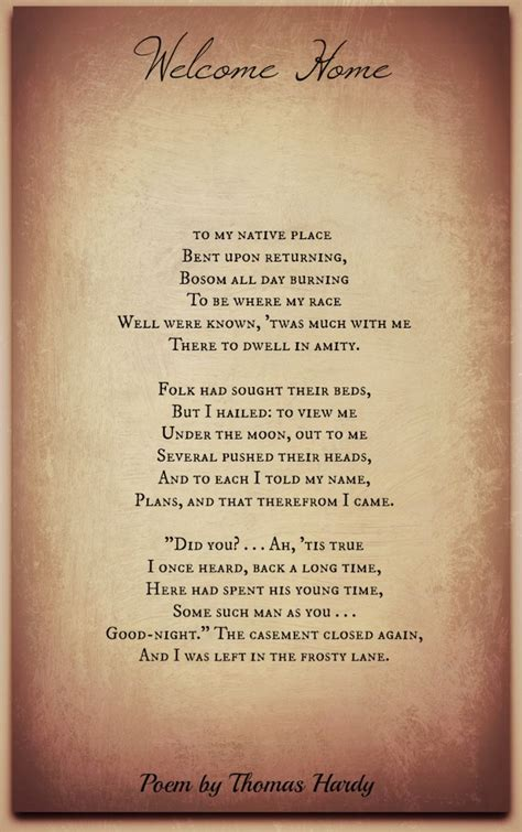 thomas hardy poems classic famous poetry