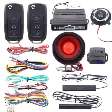 Quality Easyguard Pke Car Alarm System Passive Keyless