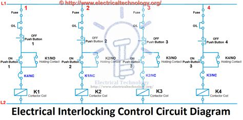 What Electrical Interlocking Power Control Diagrams