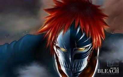 Bleach Ichigo Hollow Orange Hair Kurosaki Desktop