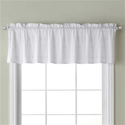 buy newport kitchen window valance in white from bed bath