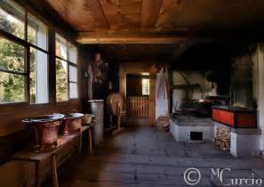 kitchen cottage farmhouse interior old wooden rural switzerland 2 jpg swissphotogallery