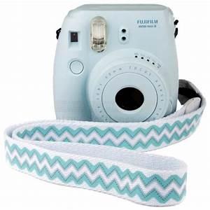 Fujifilm Instax Mini 8 Polaroid Camera (Blue) + Mystery Gift