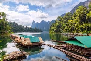 Khao Sok National Park Floating Bungalows