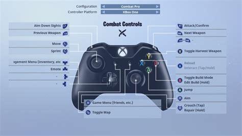 fortnite battle royale controls  pc ps  xbox