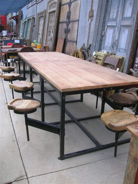 sale  seat mango wood canteen table  attached