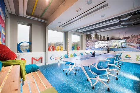 spa theme  inspiration   energetic google offices