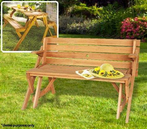 interchangeable picnic table  bench crazy sales