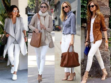 White pants styling ideas u2013 Just Trendy Girls