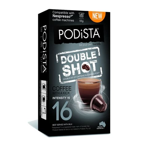 ( ktul) — a group of tulsans is calling out doubleshot coffee company over native american. Podista Double Shot Coffee Pods (10 pack) - mugpods