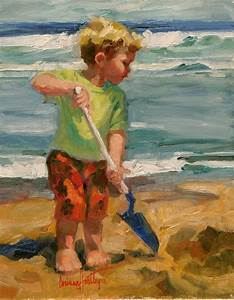 Beach Paintings With Children | www.imgkid.com - The Image ...