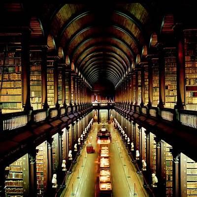 Trinity College LibraryIrelandPinterest