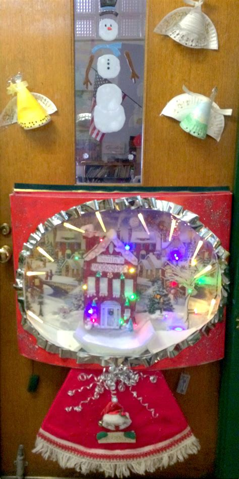 100 office christmas door decorating contest ideas