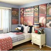 Sports Themed Bedroom Accessories Vintage Sports Themed Boy 39 S Bedroom Traditional Nursery Other