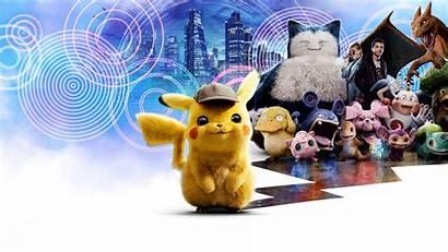 Pikachu Detective Pokemon Poster Charizard Wallpapers Background