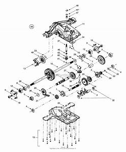 Mtd 14au804h401  2001  Parts Diagram For Transmission Assembly