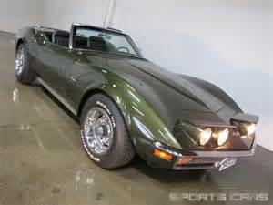 1970 Corvette Stingray Convertible